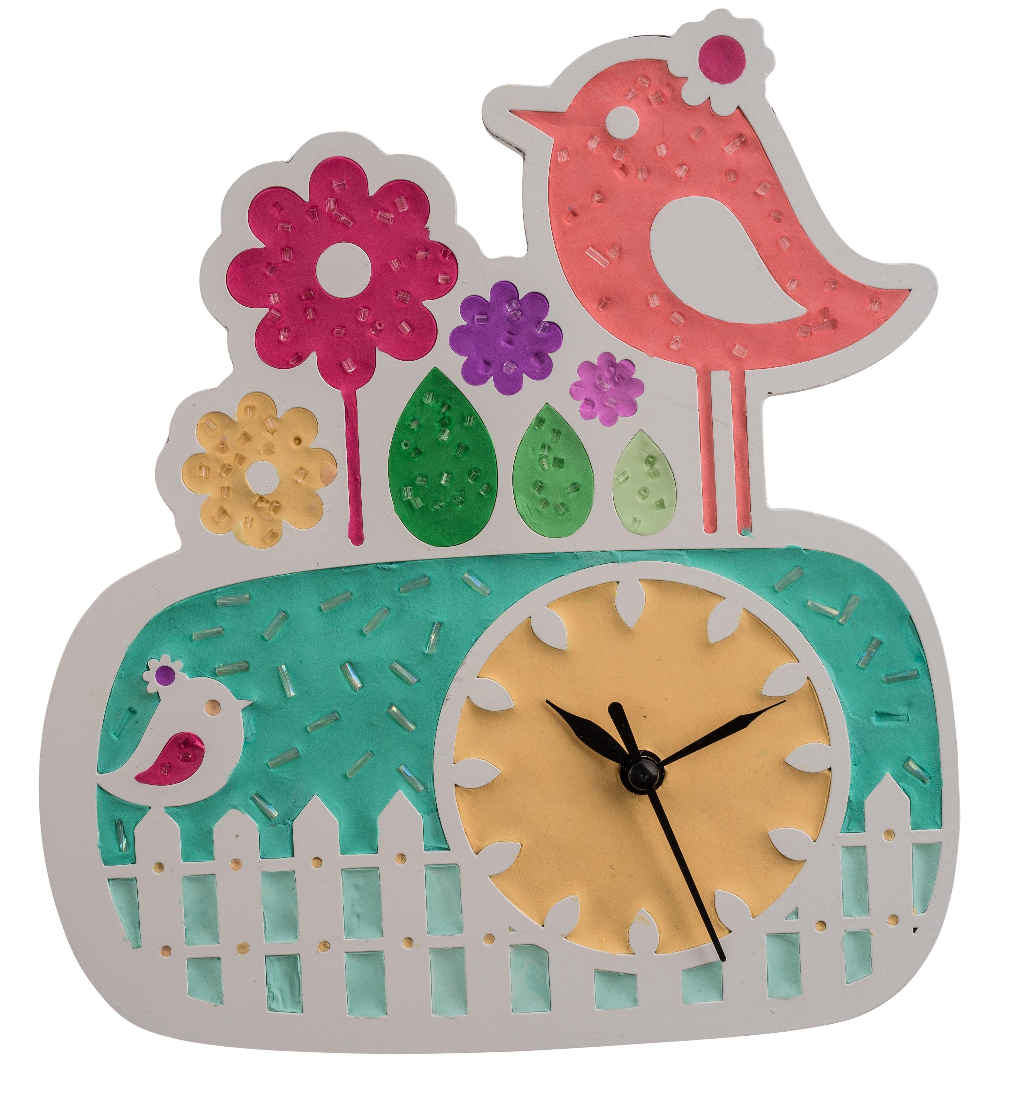 ClayArt Bird Clock