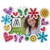 ClayArt Butterfly Picture Frame
