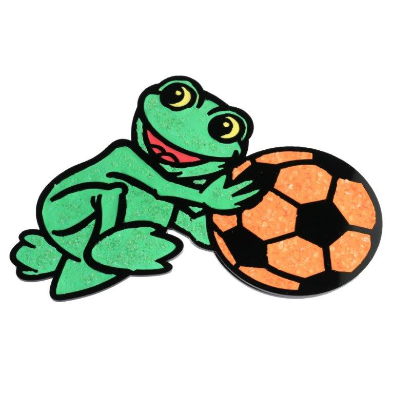 ClayArt Frog Magnet