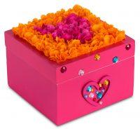 FlowerArt Jewelry box Magenta