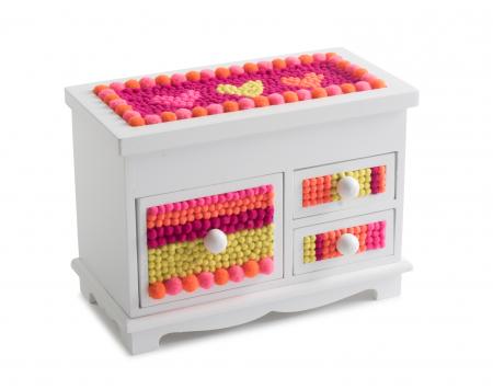 pompom jewelry box