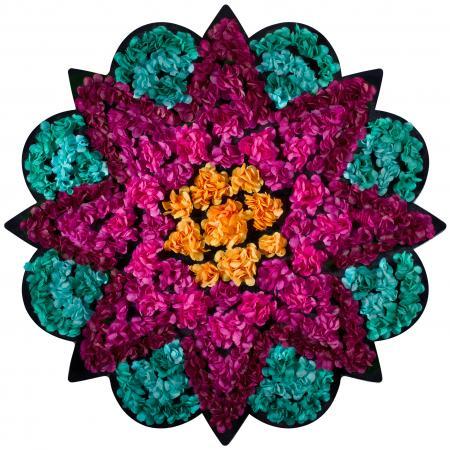 FlowerArt Star round shape