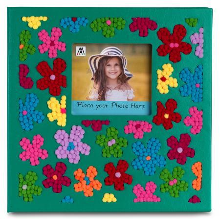 pompomart Flower Album green