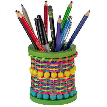 pen holder with pens