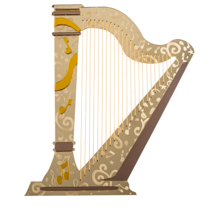 engraveart harp